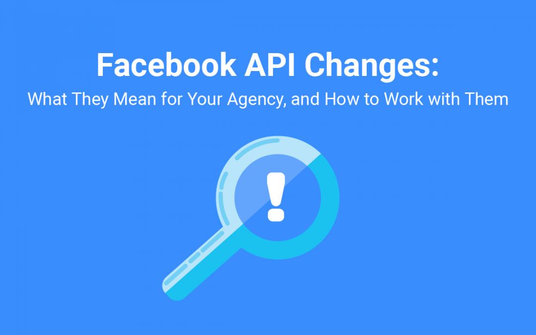 Facebook API changes