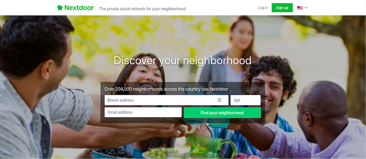 Nextdoor Is a Social Media Platforms Perfect for Government