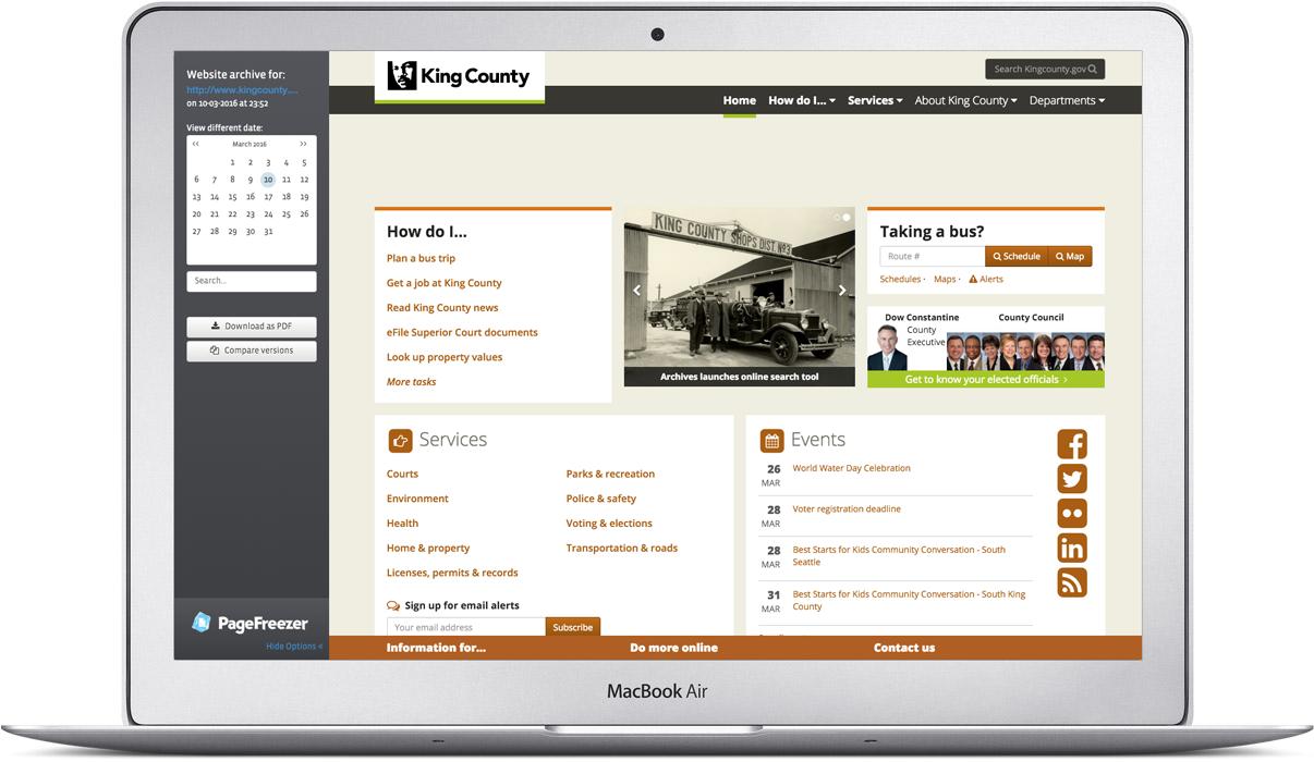 Public Portal for Government